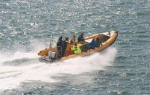 Venture Jet Ocean Dynamics Ribworker jet boat St Davids Pembrokeshire