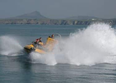 Venture Jet fun jet boat spin Whitesands beach