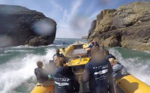 Venture Jet boat on Wet and Wild jet boat adventure tour St Davids
