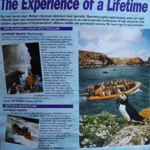 Thousand Islands Expeditions leaflet