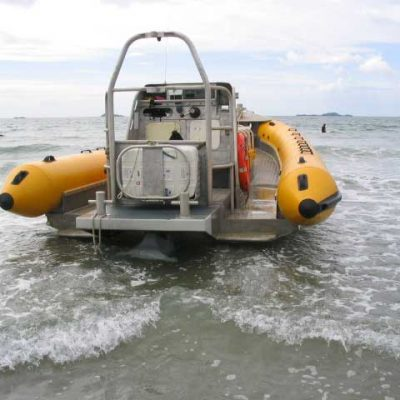 Venture Jet Ribworker shallow water operation