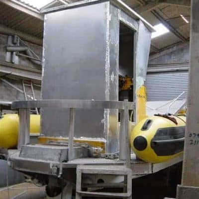 Ocean Dynamics aluminium Ribworker jet boat refit from open to cabin RIB - wheelhouse construction