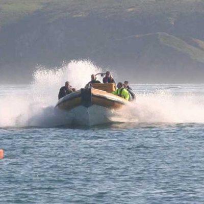 Venture Jet Ribworker jet boat power braking