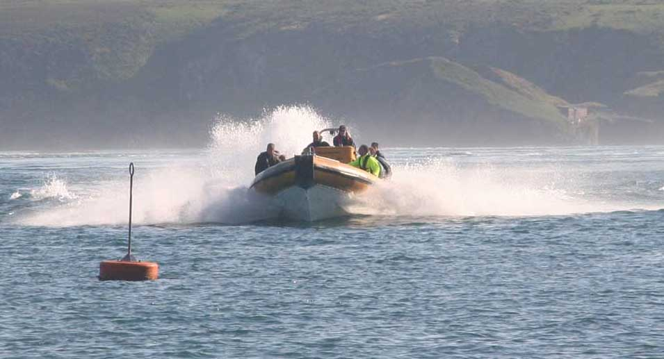 Jet Boat Business For Sale (St Davids, Pembrokeshire, Wales