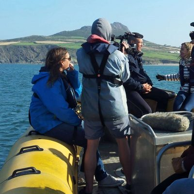 Venture Jet boat film charter with ITV This Morning