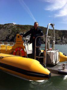 Tim Brooke, skipper and co-owner at Venture Jet