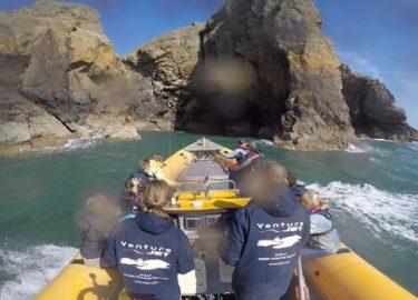 Venture Jet Ramsey Island jet boat tour
