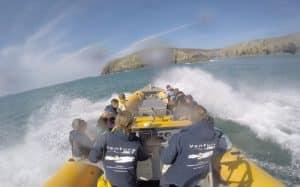 Venture Jet boat doing jet boat spin