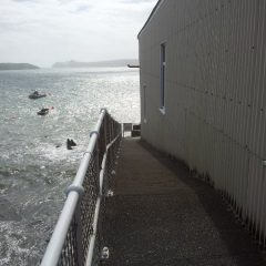 St Justinian St Davids old boathouse