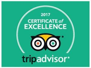 Venture Jet Trip Advisor Certificate of Excellence